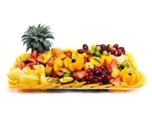 מגש פירות טרופיים